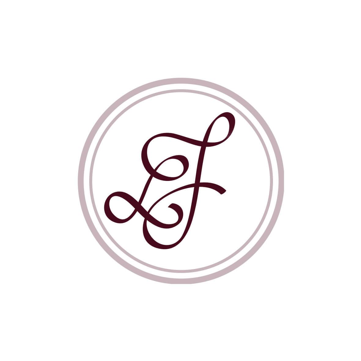 Hochzeitslogo: Logo das Wachssiegel eines Hochzeitspaares