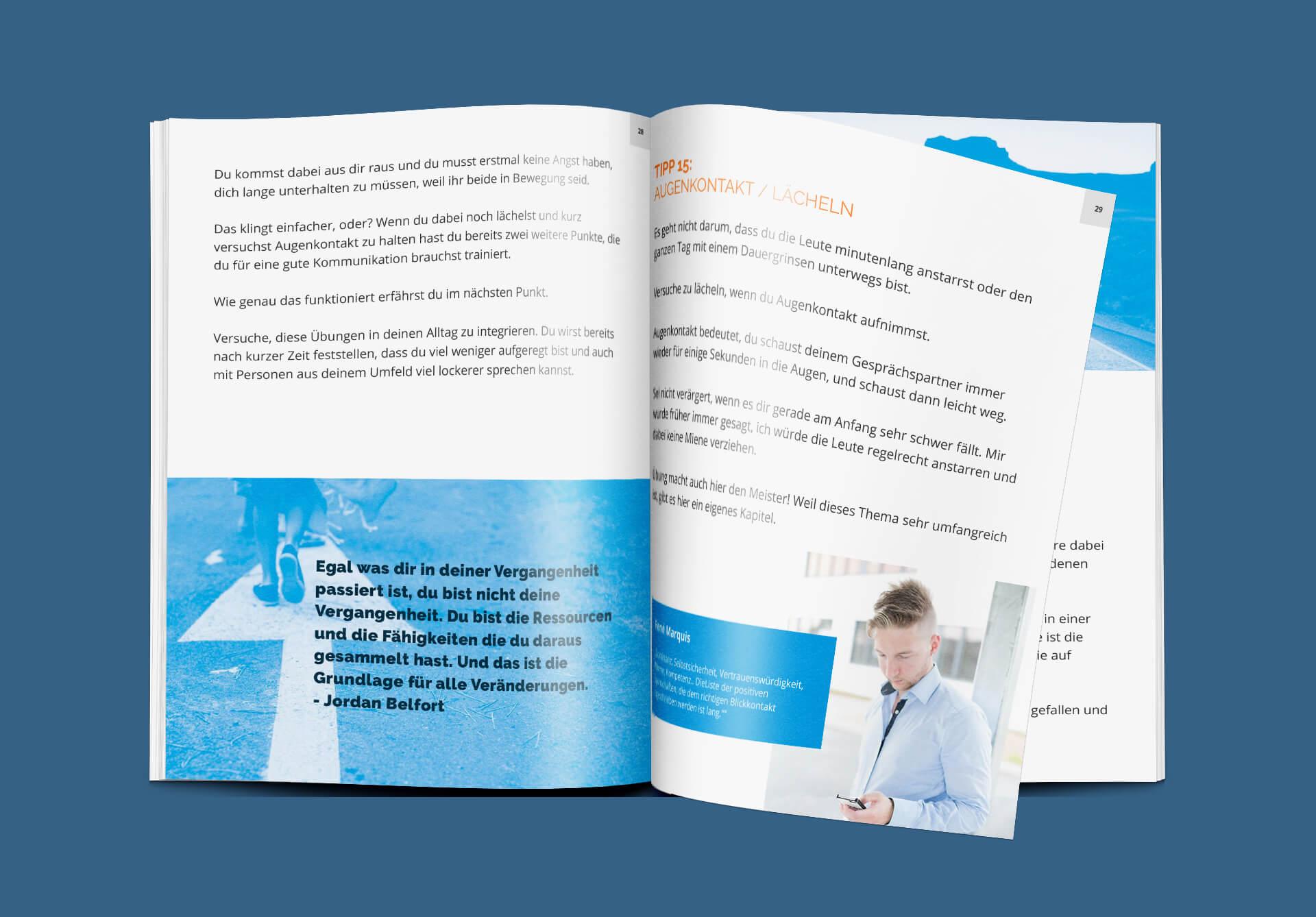 Editorial Design: Layout für ein E-Book