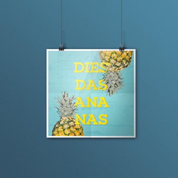 Low-Poly Ananas